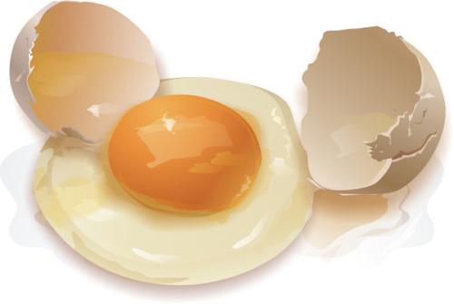 Куриные яйца против папиллом