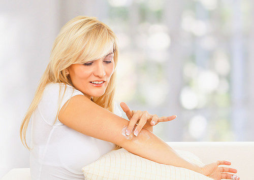 Лечение сыпи на локтях