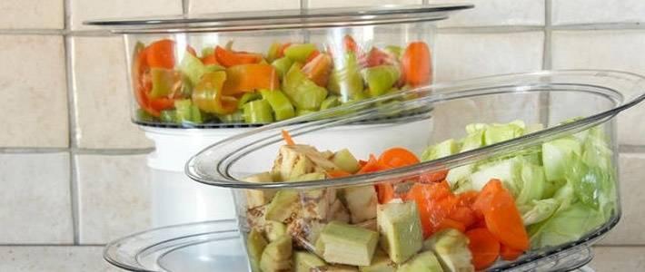 Овощи в пароварке при дерматите