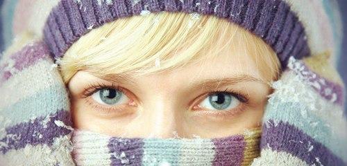 Обморожение лица
