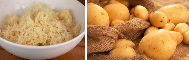 Примочки из картофеля